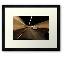 On The Road #3 Framed Print