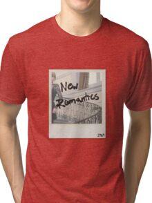 New Romantics polaroid Tri-blend T-Shirt