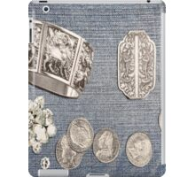 Denim with Sterling 2 iPad Case/Skin