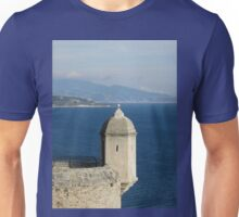 Monaco Tower With Crooked Slit Window Unisex T-Shirt