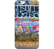 Abstract Graffiti Wall Art Photography - The Wall iPhone Case/Skin