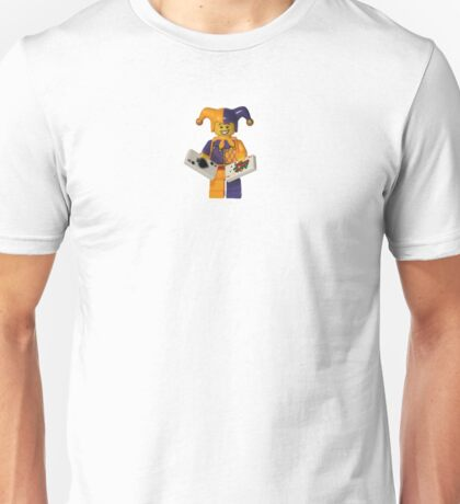 LEGO Jester with cards Unisex T-Shirt