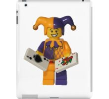 LEGO Jester with cards iPad Case/Skin