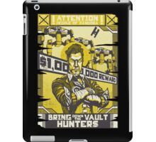 Bring Down the Vault Hunters iPad Case/Skin