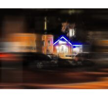 Night Rushes By Photographic Print