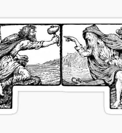 Thor & Greybeard Sticker