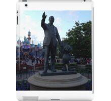 Walt Disney Statue iPad Case/Skin