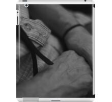 Lines and Time iPad Case/Skin