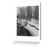 Icicle Creek Greeting Card