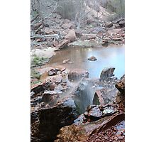 Water colors Photographic Print
