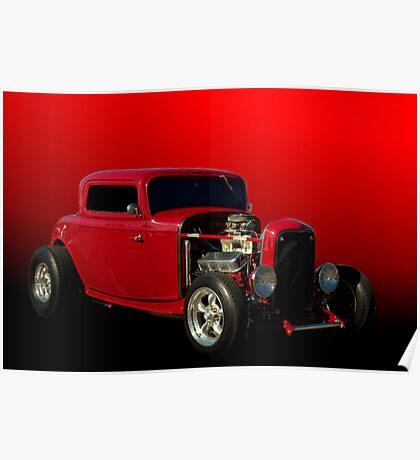 1932 Ford Street Rod Poster