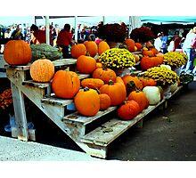 Farmers Market Photographic Print