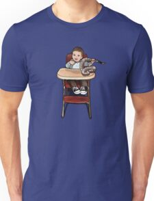 Baby playing with Rattler Unisex T-Shirt