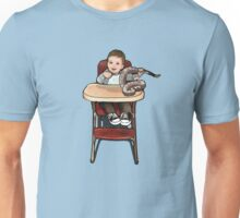 Baby playing with Rattler T-Shirt