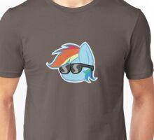Rainbow Dash Ball 20% cooler Unisex T-Shirt