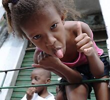 Hello from Rocinha  by DSPhotographics