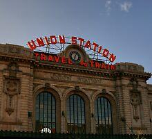 Union Station Denver Colorado by Rene Rivers