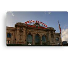 Union Station Denver Colorado Canvas Print