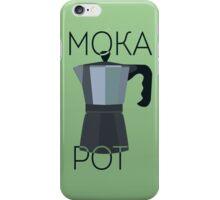 Art Deco Moka Pot Poster iPhone Case/Skin