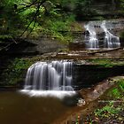 Ithaca's Buttermilk falls VIII by PJS15204