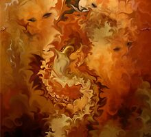 Indian summer- L'ETE INDIEN / Abstract Art + Products Design  by haya1812