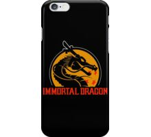 Inmortal Dragon - Shenron parody iPhone Case/Skin