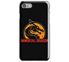 Inmortal Dragon - Shenron parody iPhone Case/Skin