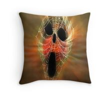 Happy Halloween to RB friends from Julie, Byron (Barnsis). Throw Pillow