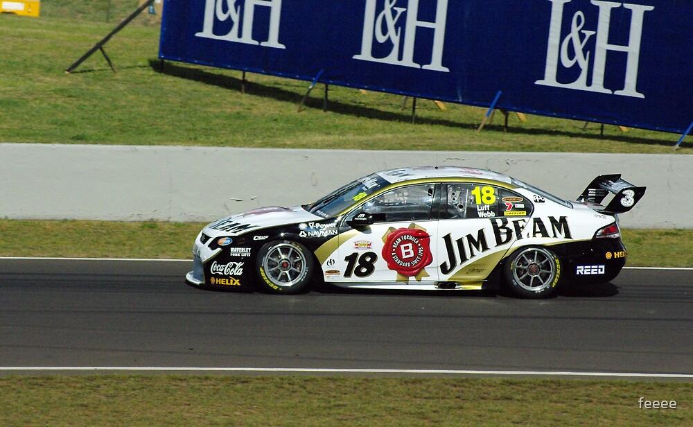 18, Jim Beam Car, Luff and Webb by feeee