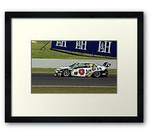 18, Jim Beam Car, Luff and Webb Framed Print