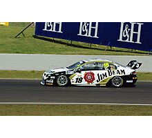 18, Jim Beam Car, Luff and Webb Photographic Print
