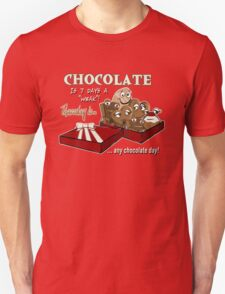 Chocolate - Thursday is any chocolate day T-Shirt