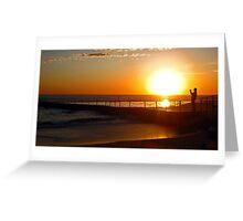 Photographers Sunrise Greeting Card