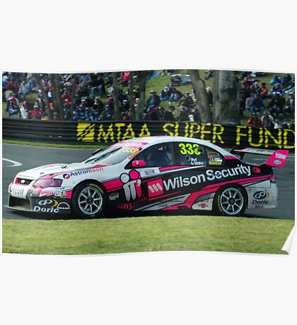 333- Wilson Security V8 supercar Poster