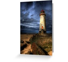 The Abandoned Lighthouse Greeting Card