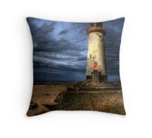 The Abandoned Lighthouse Throw Pillow
