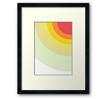 Colors Bows Framed Print