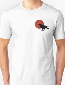 Red Moon and Crow Raven T-shirt (Small image) T-Shirt