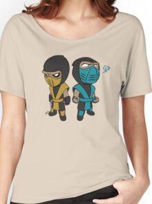 Scorpion & Sub-Zero Women's Relaxed Fit T-Shirt