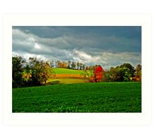 Pennsylvania fields Art Print