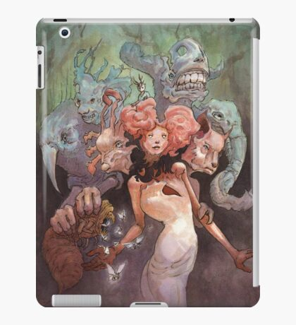 The Fanglehorn Troupe iPad Case/Skin