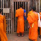 Monks at the Gate by openyourap