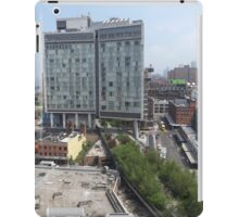 Aerial View of High Line, Standard Hotel, New York City iPad Case/Skin
