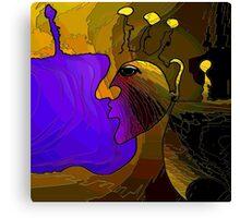 Smoldering Woman Canvas Print