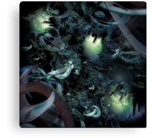 Tripping on Space Debris Canvas Print