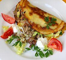 Potatoe Crêpes and Chanterelles by SmoothBreeze7
