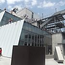 Outdoor Sculpture Deck, Whitney Museum, Renzo Piano, Architect, New York City  by lenspiro