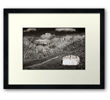 Boring Shipwreck no. 86 Framed Print