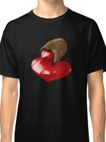 Chocolate - I Love You Classic T-Shirt