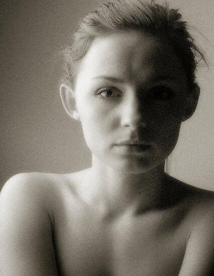 Monika, a simple portrait by Andrew Jones